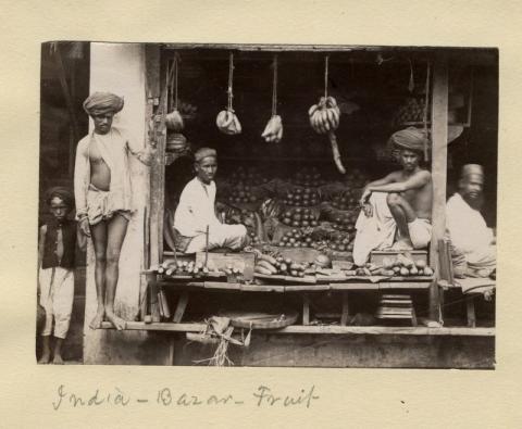 भारतीय बाजार के पुराने काम धंधे, दुर्लभ तस्वीरे