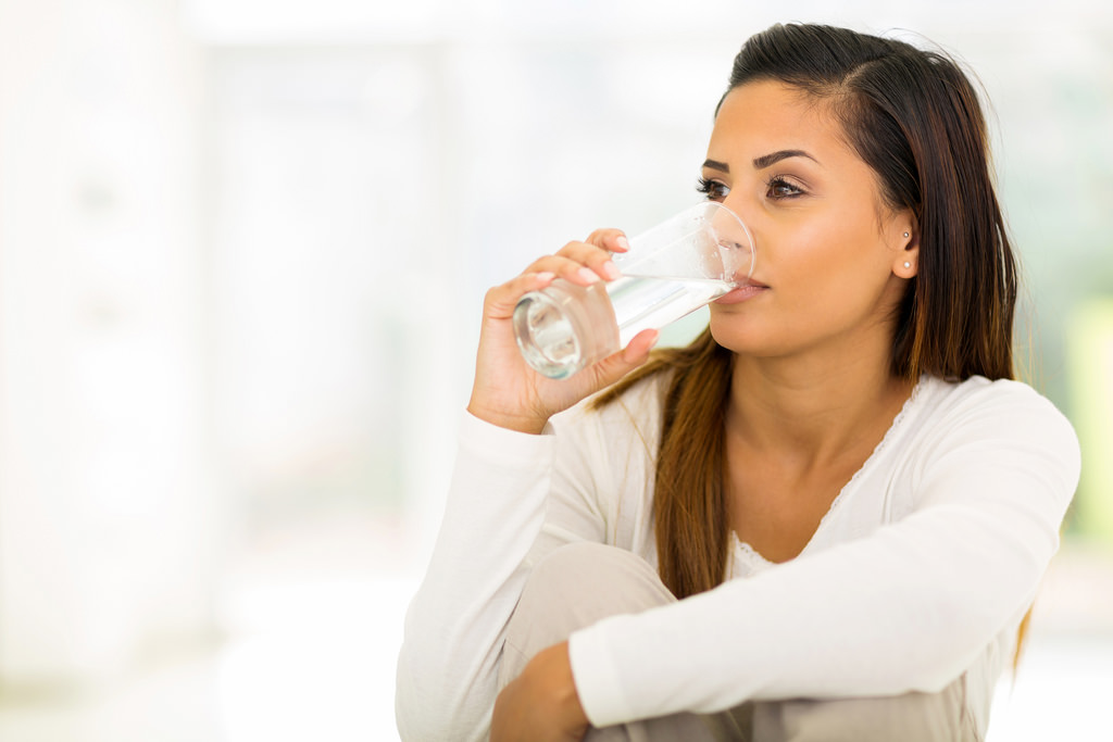 Drink water enough to get rid of these 5 things