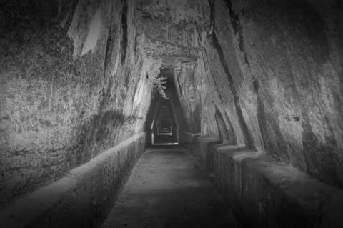 Haunted Cumae Archaeological Park, Italy