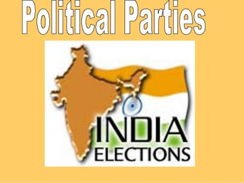 History of political parties in India