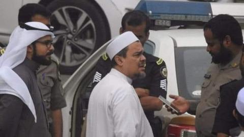 Merasa Dimata-matai Intelijen Indonesia, Habib Rizieq dan Keamanan Arab Saudi Kompak!