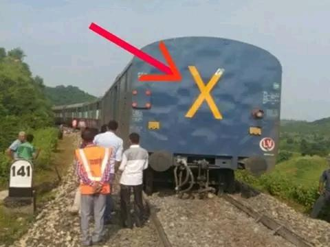 99% people do not know the meaning of X written on every train