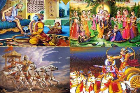 Learn Divine Knowledge from Lord Shri Krishna