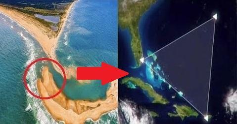 Pulau Misterius Tiba-tiba Muncul Di Segitiga Bermuda, Ternyata Isinya Sangat Berbahaya!
