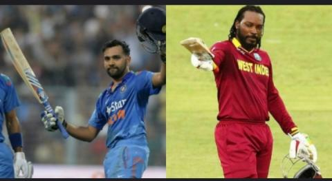 Ind vs Eng: Rohit Sharma's brilliant century, breaks the record of Chris Gayle