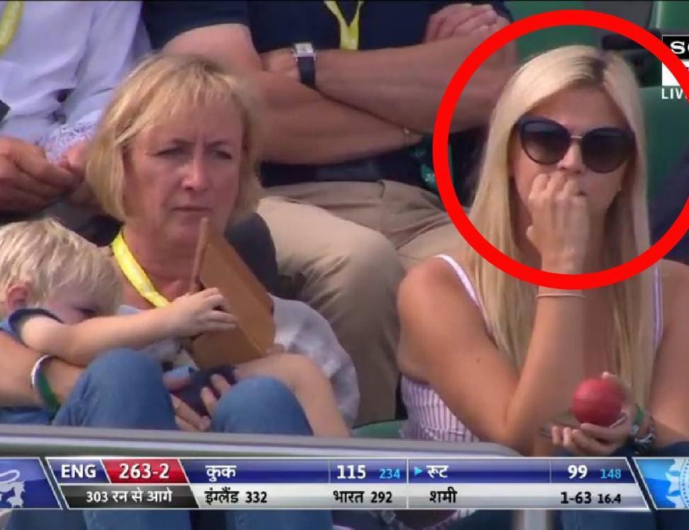 पांचवे टेस्ट के दौरान इस खूबसूरत महिला को बारबार दिखाता रहा कैमरामैन जानें कौन है यह !!  - शब्द (shabd.in)