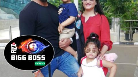 Bigg Boss 12: S.Sreesanth arrives in Mumbai with wife Bhuvneshwari, daughter & son!