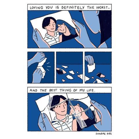 Inilah 7 Ilustrasi Hubungan Romantis Paling Diinginkan Semua Orang (2)