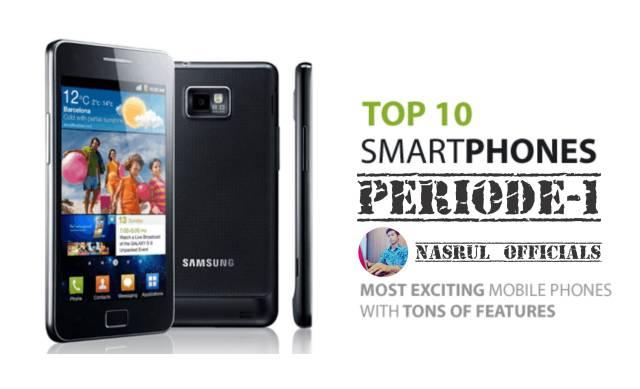 10 Smartphone Trending Januari 2018 Minggu Pertama