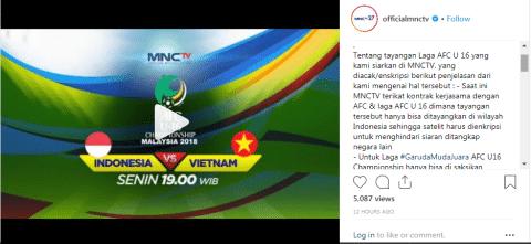 Pupus Sudah Harapan Pendukung Timnas Indonesia U-16 Di Laga Melawan Vietnam Nanti.