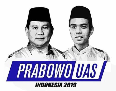 Hari ini Umumkan Cawapres, Harga Mati Prabowo Pilih UAS!