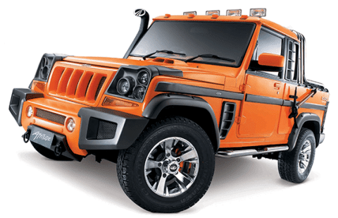 Customized Mahindra Bolero SUV in India