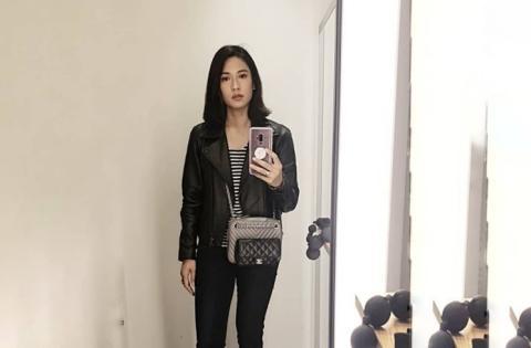 Style Jaket Kulit Ala Artis Cantik, Nomor 2 Dan 3 Idola Anak Muda