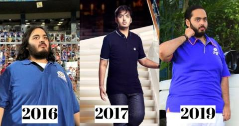 This popular businessman has again gained weight