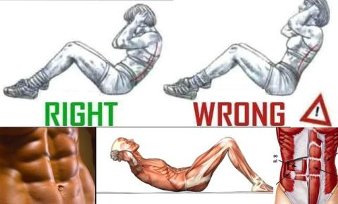 Six Pack Abs Training Step by Step