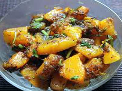 Pumpkin with a sweet and sour twist