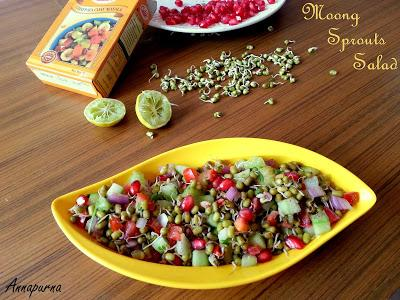 Moong Sprouts Salad Recipe Tips