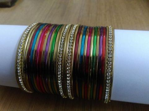 Beautiful glass bangles for womens