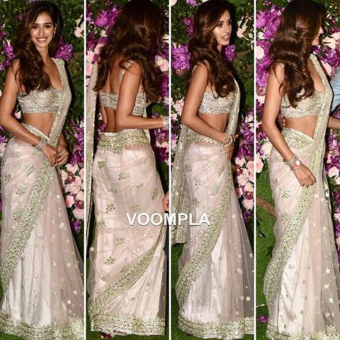 disha patani in akash ambani marriage
