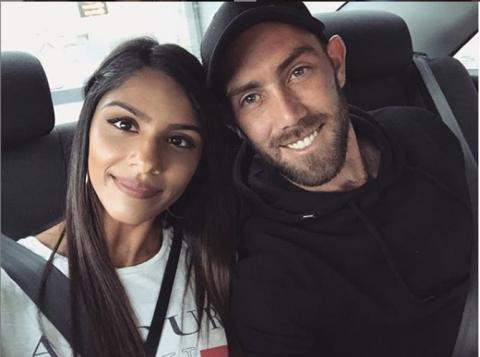 Australian cricketer Glenn Maxwell has an Indian girlfriend